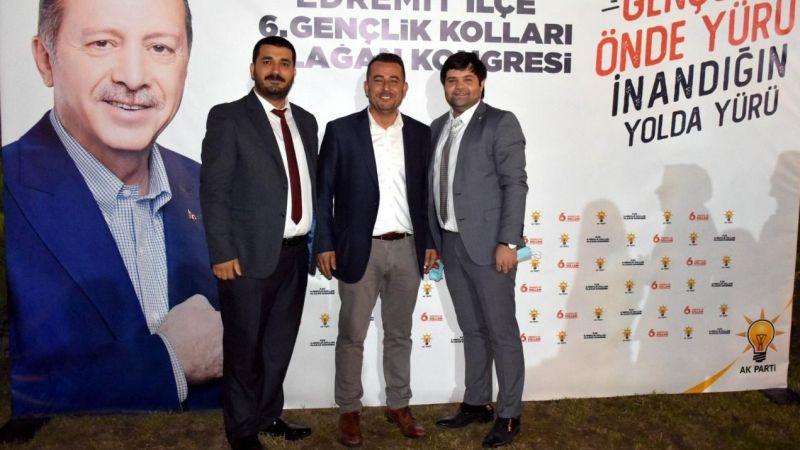 AK Parti Edremit İlçe Gençlik Kolları Başkanı Ali Armağan Çakan oldu