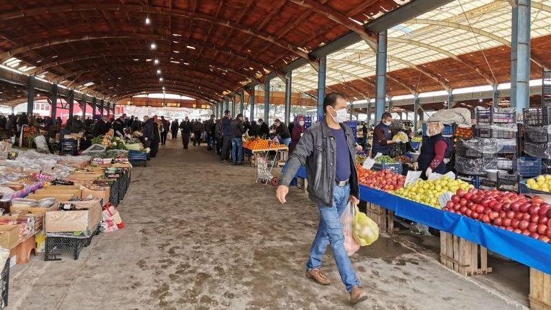 İvrindi'de kurulan pazarların günleri değişti