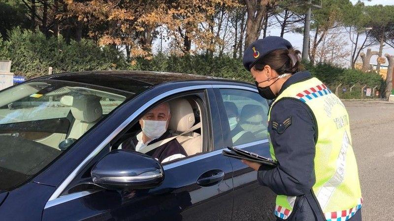 Trafikte Kurallara Uymayanlara 105 Bin Lira Ceza