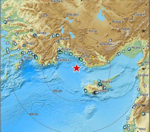 O ilimizde şiddetli deprem. Birçok ilde hissedildi
