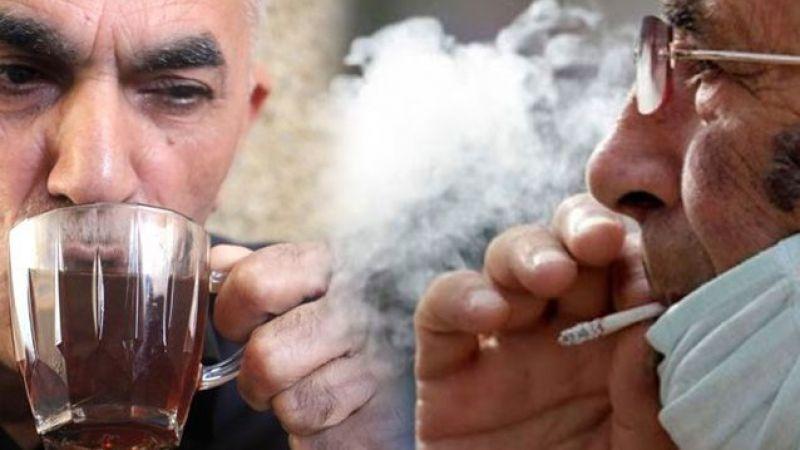 Salgınla Mücadelede Yeni Tedbirler, çay ve sigara içmek yasak