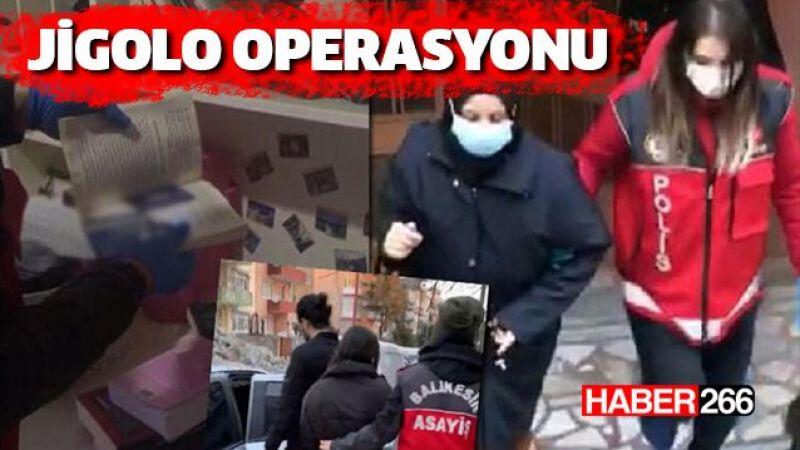 Jigolo operasyonu, Balıkesir'de 98 erkek dolandırıldı