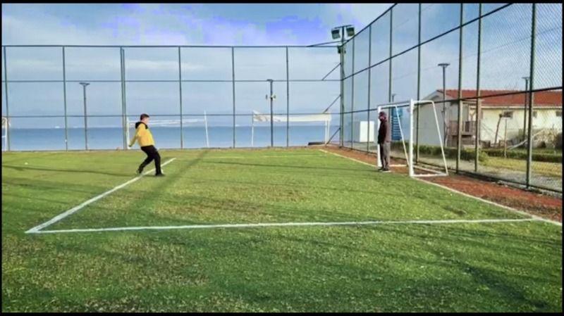 Tayfun Canlı ve Serhan Asker'den Futbol Şov!