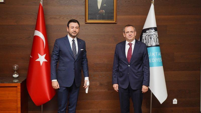 Ayvalık ve Beşiktaş belediye başkanları buluştu