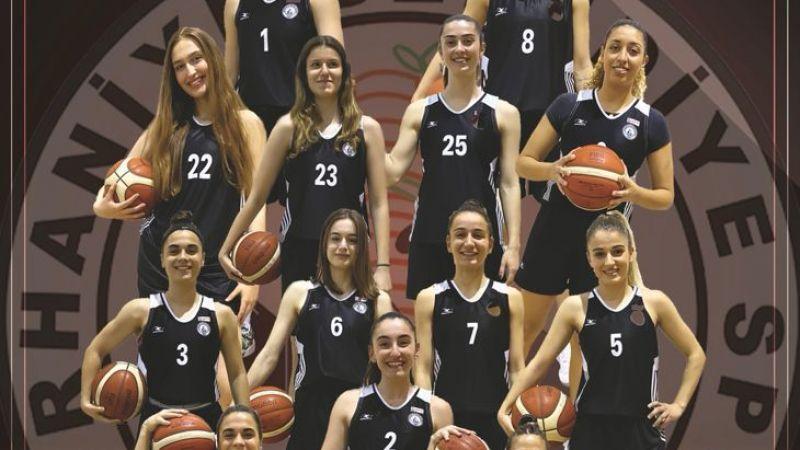 Burhaniye kadın basketbol üst lige ilerliyor