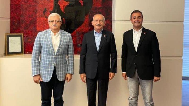 Başkan Deveciler'den, Kılıçdaroğlu'na ziyaret