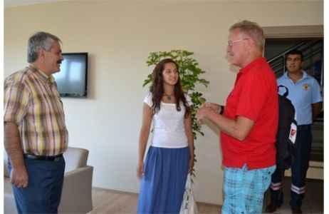 İtfaiyeye 'İsveçli' ziyareti