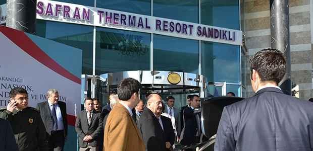 Bakanın tercihi Safran Thermal Otel