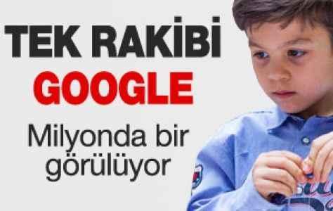 5 yaşındaki çocuğun tek rakibi Google