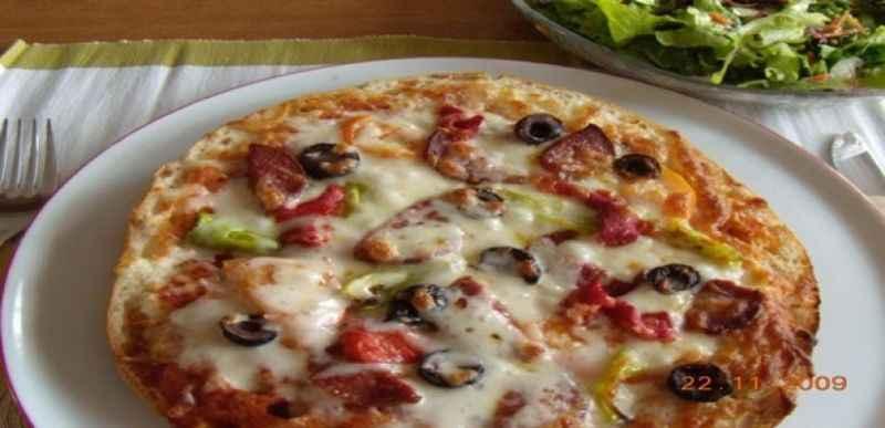 Ramazan pidesinden pizza denediniz mi