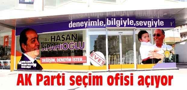 AK Parti seçim ofisi açıyor