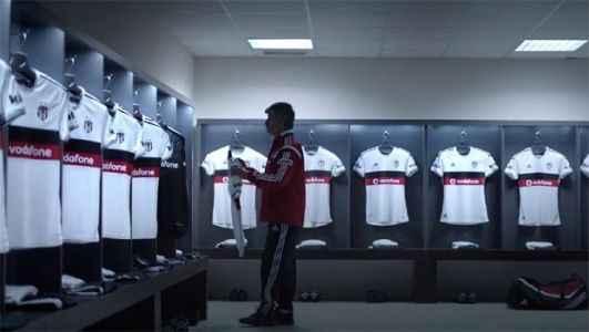 İşte Beşiktaş'ın yeni forma reklamı