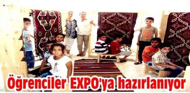 Öğrenciler EXPO'ya hazırlanıyor