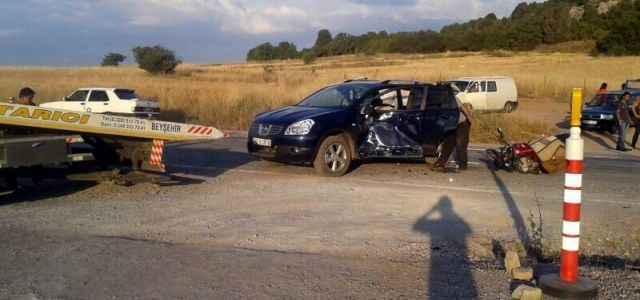 2 ayrı feci kaza