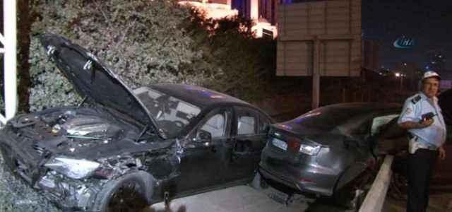 Porsche müdürü kazada öldü
