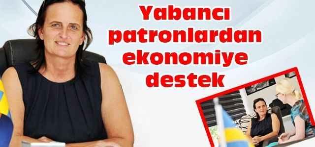 Yabancı patronlardan ekonomiye destek
