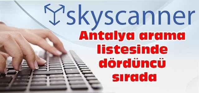 Antalya arama listesinde dördüncü