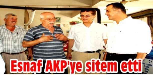 Esnaf AKP'ye sitem etti