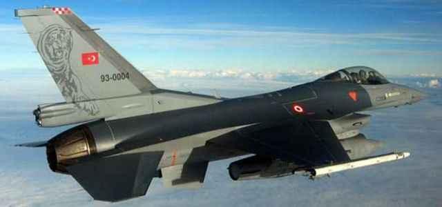 Türk F-16´lar kilitlendi