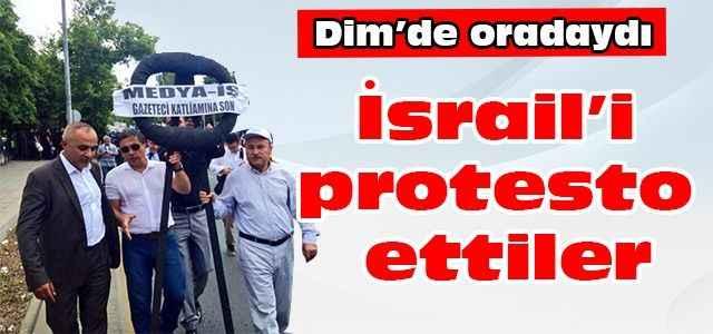 İsrail'i protesto ettiler