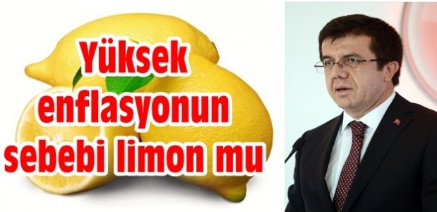 Yüksek enflasyonun sebebi limon mu