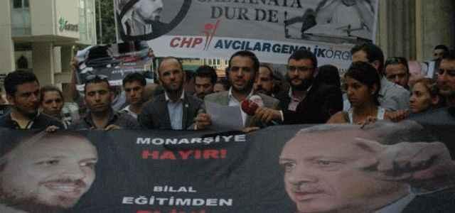 CHP'den MEB önünde eylem!