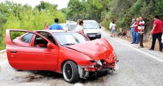 Kaza sonrası  yürek burkan dram