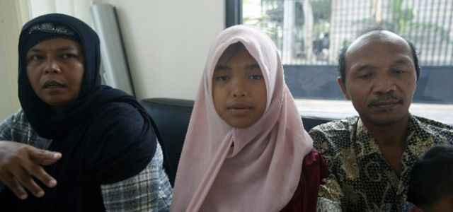 Tsunamide kaybolan kız bulundu