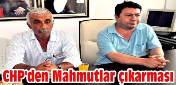 CHP'den Mahmutlar çıkarması