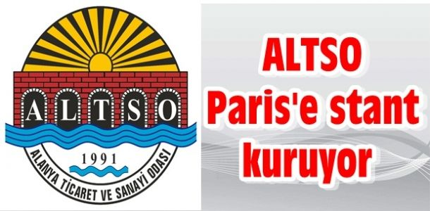 ALTSO Paris'e stant kuruyor