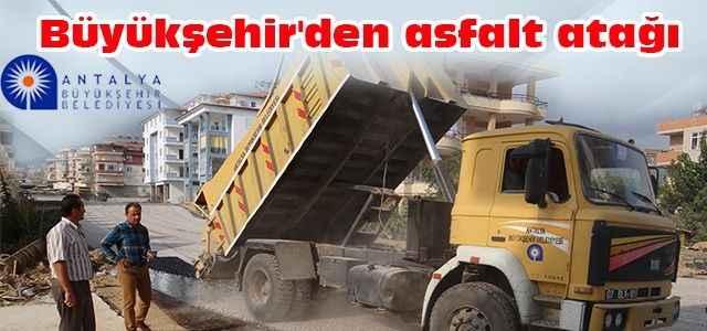 Büyükşehir'den asfalt atağı