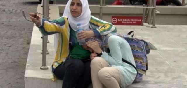 Arap turisti ağlatan kaza