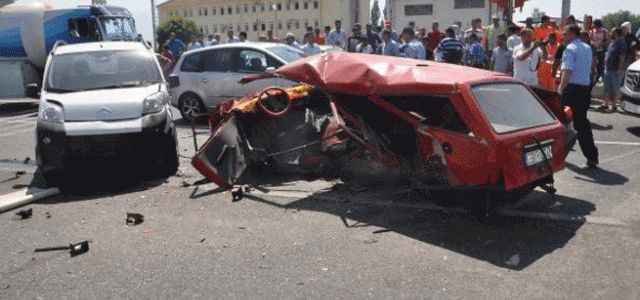 CHP'li başkan kaza geçirdi