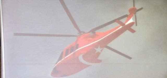 Yerli helikopterden ilk kareler