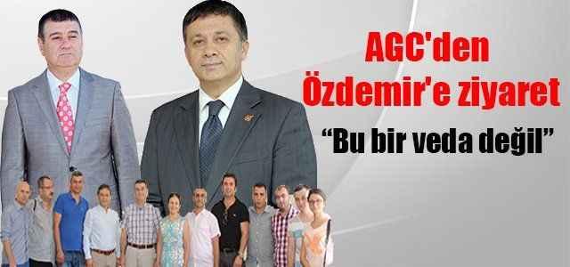 AGC'den Özdemir'e ziyaret