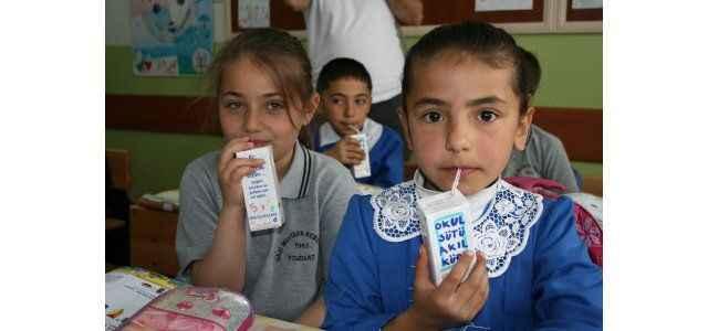 Okul sütü programı yayımlandı