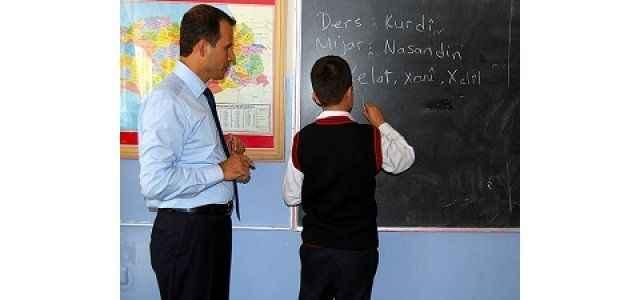 Kürtçe okul gerginlik yarattı