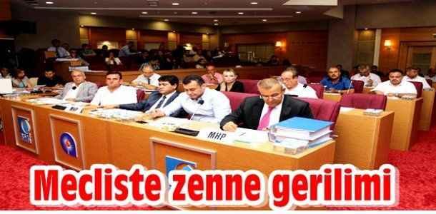 Mecliste 'Zenne' gerilimi