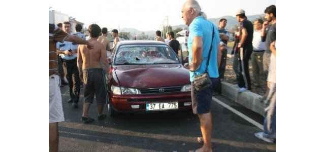 Trafik kazası: 1 ağır yaralı