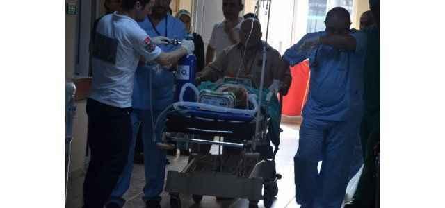 TIR'ın çarptığı çocuk ağır yaralandı