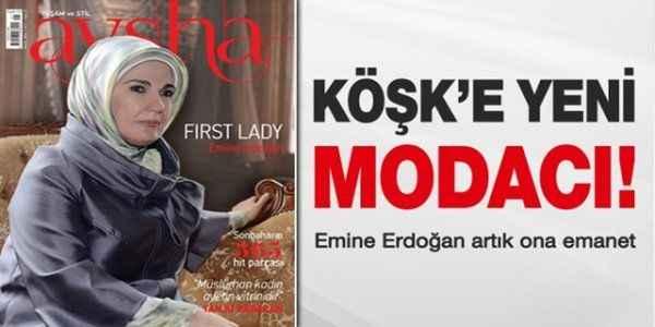 Emine Erdoğan artık ona emanet