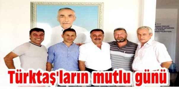 Türktaş'ların mutlu günü