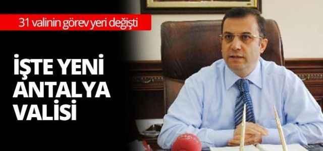 Yeni vali Muammer Türker kimdir?