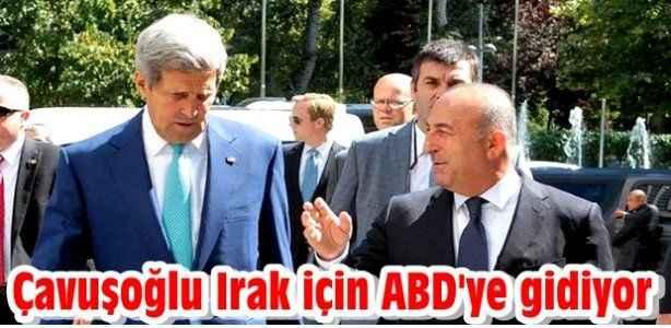 Çavuşoğlu Irak için ABD'ye gidiyor