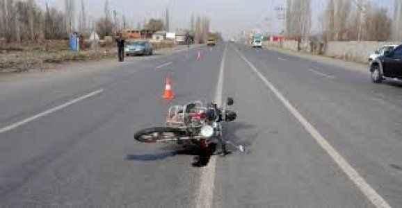 Motosiklet kazası: 1 ölü 1 yaralı