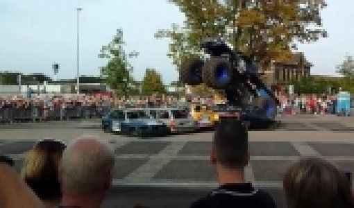 'Canavar kamyon' faciası : 3 ölü, 15 yaralı