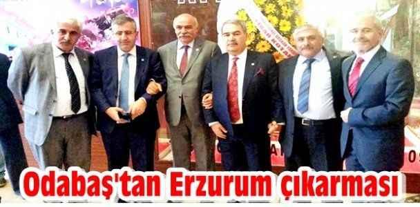 Odabaş'tan Erzurum çıkarması