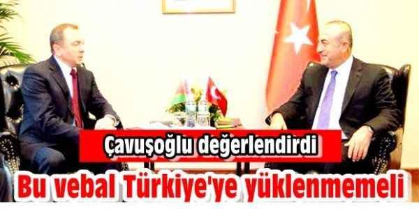''Bu vebal Türkiye'ye yüklenmemeli''