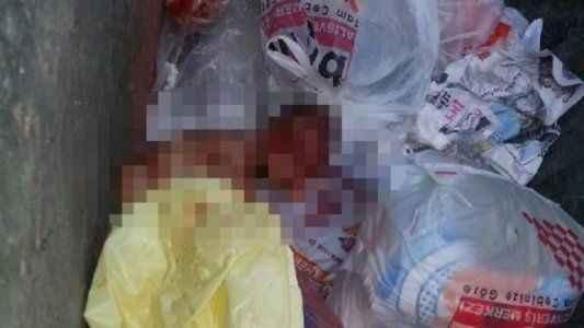 Bebeğini çöpe atan anne serbest bırakıldı