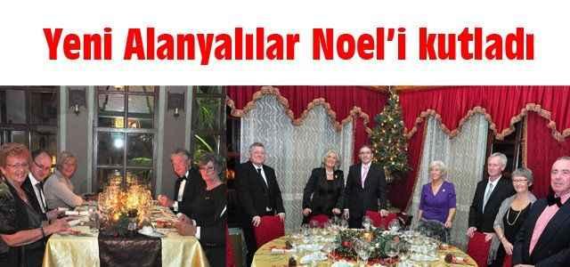 Yeni Alanyalılar Noel'i kutladı